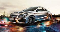 My next car - Mercedes CLA 2013