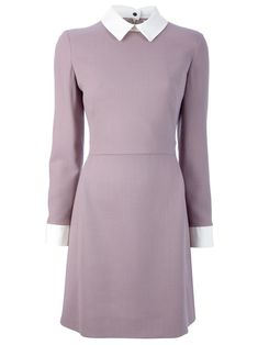 The sort of Victoria Beckham dress that meshes well with winged liner and French music.
