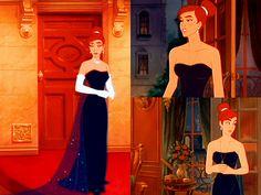 always wanted a dress like Anastasias opera dress in the cartoon movie