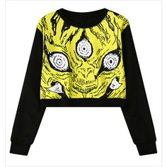 Black Abstract Floral Print Crop Sweatshirt 15SS00084 ($27) ❤ liked on Polyvore featuring tops, hoodies, sweatshirts, white, cropped sweatshirt, black hoodie sweatshirt, sweatshirts hoodies, black hooded sweatshirt and sweat shirts