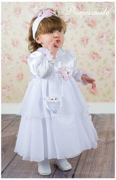 Sonja - Prinzessinnentaufkleid für kleine Ladies! - Princessmoda - Alles für Taufe Kommunion und festliche Anlässe