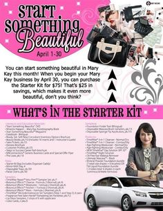 Everything that comes in a Mary Kay starter Kit! From my Blog amarykayadventure.blogspot.com