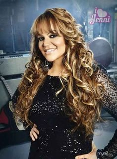 Jenni Rivera, she came to Santa Maria to a concert and met her after backstage.