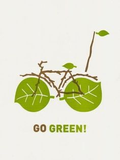Riding your bicycle to work instead of driving your car is a great way to not only save money, but be more environmentally friendly. If you live close enough, try it this Earth Day.