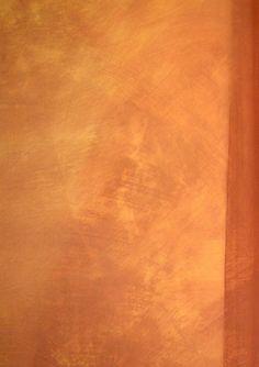 Badigeon de chaux aérienne - Société des Ocres de France Diy Wall Painting, House Painting, Murs Oranges, Barge Interior, Stucco Finishes, Kitchen Dining Combo, Beautiful Bedroom Designs, Deco Restaurant, Lime Paint
