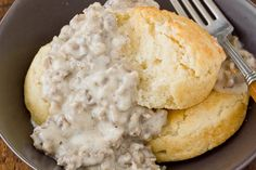 Sausage gravy is one of those dishes that is so basic, you don't even need a recipe