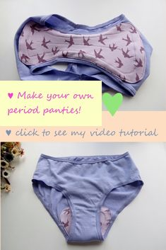 Sewing Clothes, Diy Clothes, Baby Bloomers Pattern, Feminine Pads, Sewing Lingerie, Make Your Own Clothes, Cloth Pads, Sewing Basics, Diy Dress