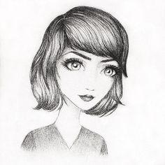 Nathalie's art Art Inspo, Sketches, Female, Drawings, Dibujo, Doodles, Drawing, Portrait, Sketch