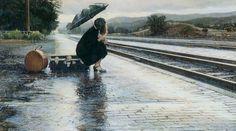 Steve Hanks, biografia, stile pittorico, opere e citazioni