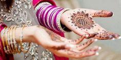 Pakistani & Indian Mehandi Designs For Girls 2017