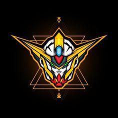 Robot head e sports logo PNG and Vector Gundam Head, Gundam Art, Vector Design, Vector Art, Logo Design, Design Art, Graffiti, Esports Logo, Game Logo