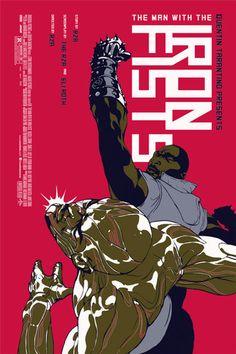 Mondo The Man with The Iron Fists Tomer Hanuka Print Poster Tyler Stout RZA | eBay