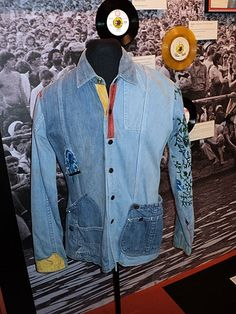 Bob Marley let his music and charisma, not flashy costumes or props, dominate his performances. He often wore this understated embroidered denim shirt onstage.