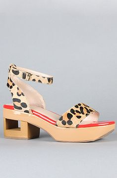 #karmaloop #soshoeme  Use rep code:XLOOP for 20% off  Retail:$128.00  The Lilly Shoe in Leopard Pony Hair by DV8 by Dolce Vita