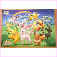 ❤pokemon The Movie❤Reversible poster❤EEVEE❤not for sale Item❤❤RARE❤Japan❤