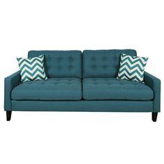 Porter International Designs Hamilton Sofa Upholstery: Otter Taupe