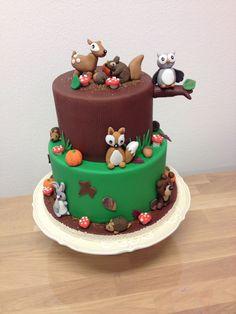 Image result for taart bosdieren