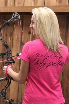 i want this shirt and her accessories on her bow and her arrows!
