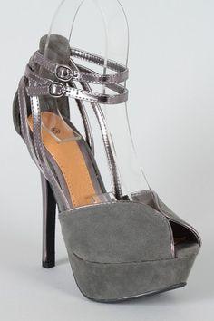 Felina- Ankle Strap Platform Sandal