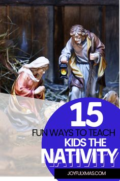 The nativity is a beloved Christmas tradition that children everywhere look forward to. It's also a great opportunity for parents to teach their kids about the birth of Jesus, which can be surprisingly difficult with so many different nativity scenes available! #christmas #nativityscene #christmastraditions #nativity