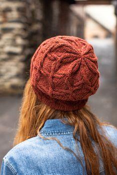Scrollwork hat from Brooklyn Tweed