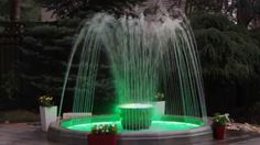 How to decorate your backyard Fountain Model Oasis Decorative Fountains, Light Effect, Rooftop, Oasis, Terrace, Waterfall, Environment, Backyard, Watch