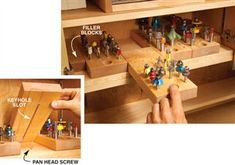 6 Storage Solutions You Can Build Into Any Cabinet - The Woodworker's Shop - American Woodworker