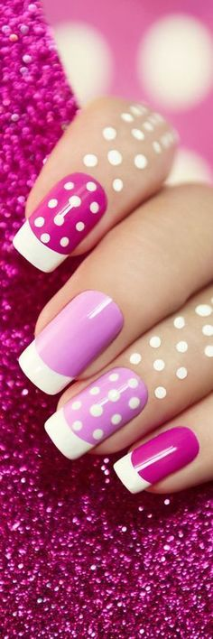 We are here to give you some tips as to some of these details – your nails! So, check out our amazing pack of cool manicure ideas with summer inspiration! Fingernail Designs, Cool Nail Designs, Fabulous Nails, Gorgeous Nails, Cute Nails, Pretty Nails, Hair And Nails, My Nails, Manicure E Pedicure