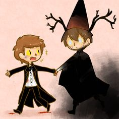 Oh... Beast Wirt and Bipper again. Cute and terrifying at the same time.