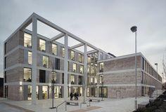 Escuela de Ingeniería en la Universidad de Lancaster / John McAslan + Partners