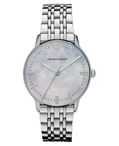 Emporio Armani Watch,Stainless Steel Bracelet
