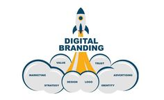First of all, digital branding refers to a technique that helps to promote a business digitally and with the main motive or aim to maximize its numeric value. We Aartisto.com - The best Digital Branding Institute offers a variety of ways to promote your business by building a wonderful logo. But first, find the significance of the Logo. Branding Tools, Social Media Branding, Branding Agency, Best Digital Marketing Company, Digital Marketing Services, Advertising Design, Marketing And Advertising, What Is Digital, Brand Campaign