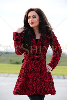 Artista Graceful Touch Red Coat