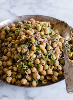 Recipe: Chickpea Salad with Red Onion, Sumac, and Lemon