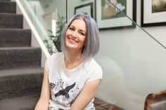 Sending thank yous to @melwaitephotography for this image of me in her gorgeous home! Web Design, Graphic Design, Photoshoot Ideas, My Images, Branding, T Shirts For Women, Fashion, Moda, Design Web