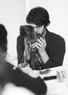 Ben Whishaw | Prada Man A/W 2013 (BTS), Photos: Federico Pestilli