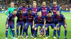 EQUIPOS DE FÚTBOL: BARCELONA contra Juventus 12/09/2017 Liga de Campeones