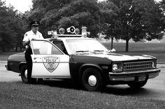 1975 Nova police car
