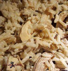 Was koche ich heute? One-Pot-Frikassee vom Suppenhuhn! – Einfach selbstgehext!