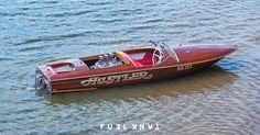 Hydro Hot Rod: Hustler Vintage Race Boat — Fuel Tank