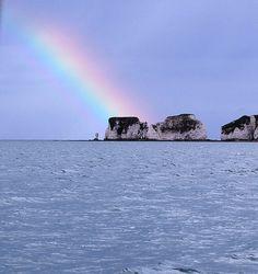 Old Harry Rocks by kinjin76, via Flickr. Dorset