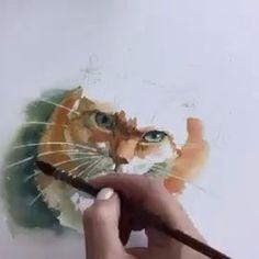 🎨 Watercolorist: @art_pavlova #waterblog #акварель #aquarelle #drawing #art #artist #artwork #painting #illustration #watercolor #aquarela