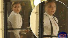 Brooklyn Beckham's on-again belle Chloë Grace Moretz smartens up in wait...