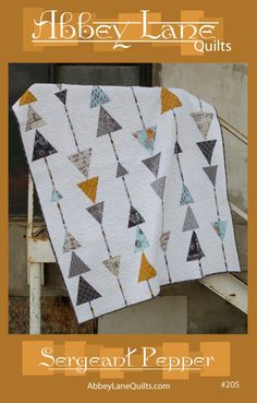 Sergeant Pepper Quilt Pattern (for purchase) | Abbey Lane Quilts