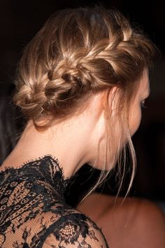 The most romantic braids for the day you say 'I Do...'