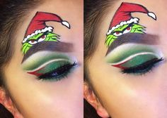 Grinch Inspired Makeup ✨