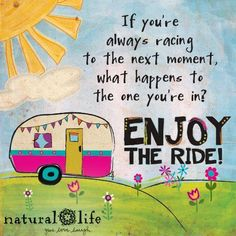 Enjoy the Ride - how to deal with negative thoughts Cute Quotes, Happy Quotes, Great Quotes, Words Quotes, Wise Words, Positive Quotes, Inspirational Quotes, Sayings, Motivational