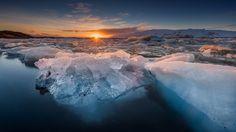 beautiful water ice sun iphone 7 hd wallpaper download