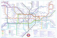Virginia Duran Blog- Infographics- Subway Map- London-