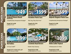 Punta Cana Vacation Specials with Air from Charlotte